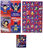 Hallmark Justice League Valentines Day Cards for Kids (32 Valentine Cards, 35 Stickers, 1 Teacher Card)
