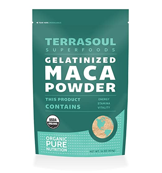 Terrasoul Gelatinized Maca Powder