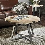 WE Furniture AZF30MWCTGW Coffee Table, Grey Wash