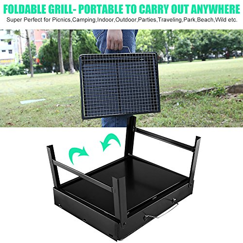 Barbecue-Grill-Uten-Portable-Lightweight-Simple-Charcoal-Grill