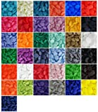 370 Sets 37-Color Lead-Tested Professional-Grade 'The Original' KAMsnaps Size 20 T5 KAM Snap Plastic Fasteners Punch Poppers Closures No-Sew Buttons