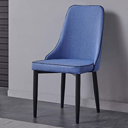 Amazon Com Sun Huijie Burlap Fabric Dining Chair Protector Cover Seat Slipcover For Hoteldining Roomceremonybanquet Wedding Party Color Blue
