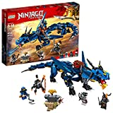 LEGO NINJAGO Masters of Spinjitzu: Stormbringer 70652 Ninja Toy Building Kit with Blue Dragon Model for Kids, Best Playset Gift for Boys (493 Pieces)
