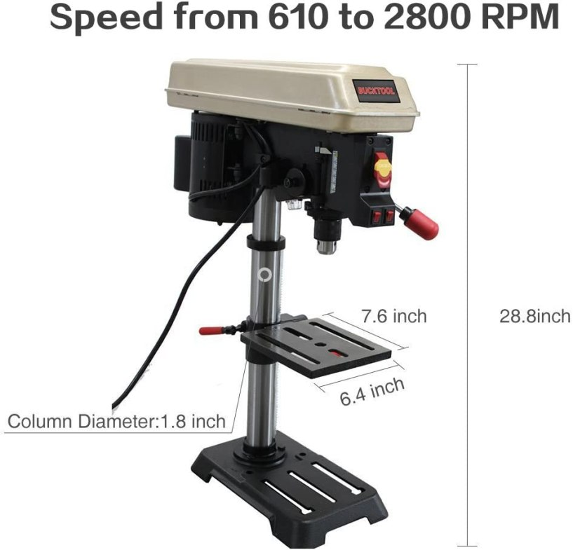 BUCKTOOL 2501A Drill Press