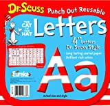 Eureka Back to School Dr. Seuss ABC Letter Cutouts, 200pc, 4'' x 4'' inches