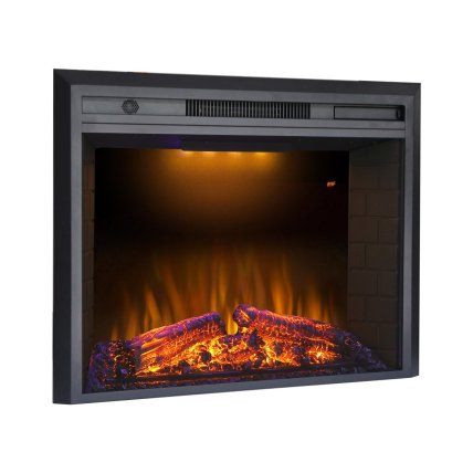 """Valuxhome Houselux 36"""" 750W/1500W, Electric Fireplace Black Friday Deals"""