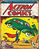 Action Comics Superman No.1 Cover Tin Sign 13 x 16in