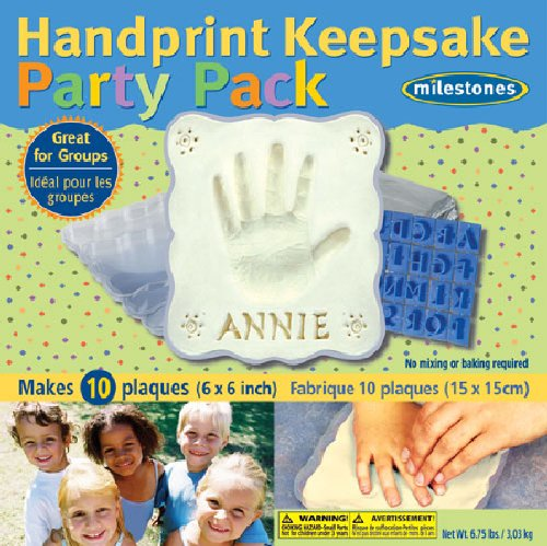 Midwest Products Keepsake Party Pack Handprint Impression Kit