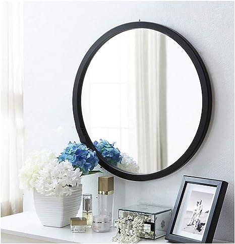 Amazon.com: Round Wall Makeup Mirror, Modern Dressing ...