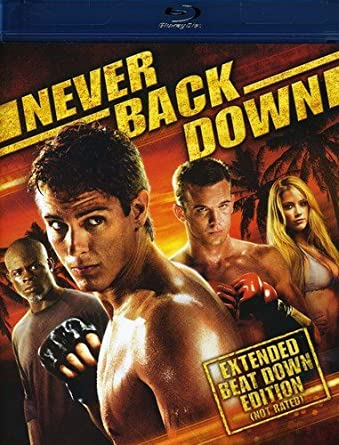 Never Back Down Blu Ray