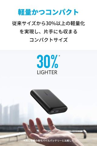 Anker PowerCore 13000 コンパクト