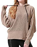 Product review for Sviuse Women's Casual Knit Long Sleeve Loose Fit Oversized Hooded Pullover Christmas Sweater