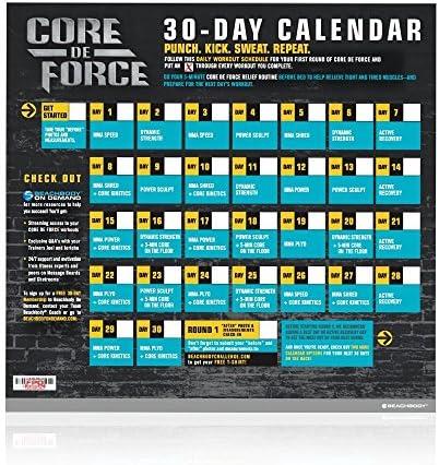 Beachbody CORE DE FORCE Base Kit DVD workout program - MMA inspired - created by 2