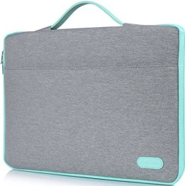 ProCase 14-15.6 Inch Laptop Sleeve Case Protective Bag, Ultrabook Notebook Carrying Case Handbag for MacBook Pro 16″/14″ 15″ 15.6″ Dell Lenovo HP Asus Acer Samsung Sony Chromebook Computer -Light Grey