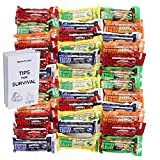 Millennium Energy Bars Assorted Flavors 36- pack including Emergency guide by Millenium foods