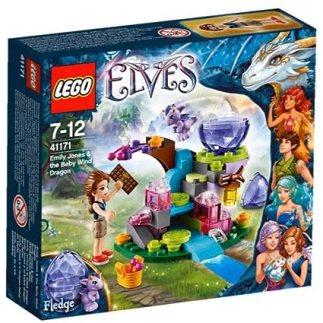 レゴ (LEGO) エルフ エミリー・ジョーンズと風のベビードラゴン 41171