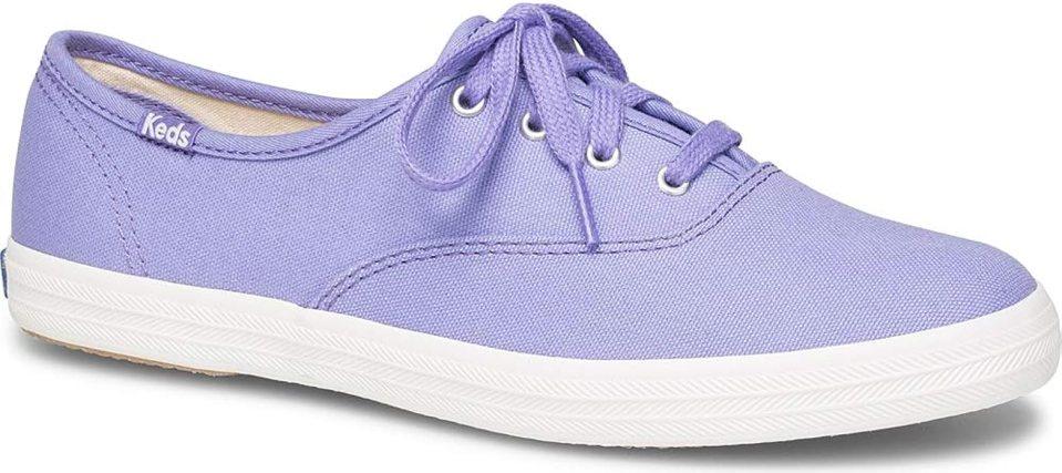 Keds Women's Champion Seasonal Solids Shoes, Aster Purple, 5.0 M US