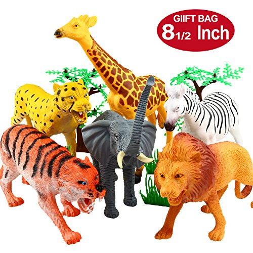 Best Animal Planet Toys For Kids And Toddlers : Animal figure inch jumbo jungle toy set piece