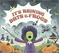 Not So Scary Halloween Books for Kids - It's Raining Bats & Frogs