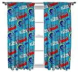 DISNEY CARS 3 'Lightning' Curtain Set, Multi-Colour, 54-Inch