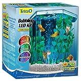 Tetra 29040 Hexagon Aquarium Kit with LED Bubbler, 1-Gallon (Packaging may vary)