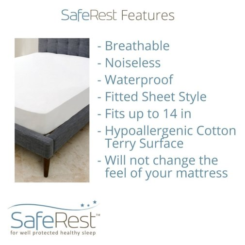 SafeRest Premium Hypoallergenic Waterproof Mattress Protector Review