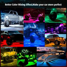 MICTUNING-C2-Curved-RGBW-LED-Rock-Lights-8-Pods-Underglow-Multicolor-Neon-Light-with-Wiring-Switch-Kit-Bluetooth-Controller-Music-Mode