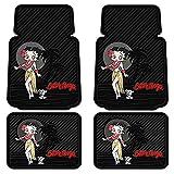 U.A.A. INC. 4pc Betty Boop Aloha Floor Mat Set