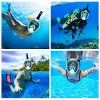 Enkeeo-Full-Face-Snorkel-Mask-with-180-Panoramic-View-Watertight-and-Anti-Fog-Including-Waterproof-Phone-Case-and-GoPro-Compatible-Band