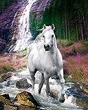 Bob Langrish-Waterfall Mini Poster 16 x 20in