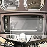 Red Hound Auto 2 2014-2018 Compatible with Harley Davidson Electra Glide Boom Box Ultra Classic Motorcycle Screen Saver 2pc Invisible High Clarity Touch Display Protector Minimizes Prints 6.5 Inch