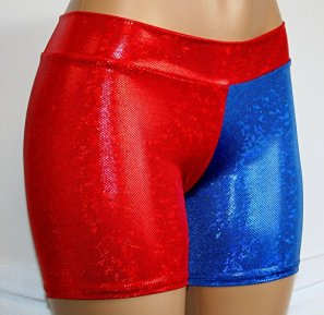 Dilly-Duds-Childrens-4-Red-and-Blue-Cosplay-Shorts