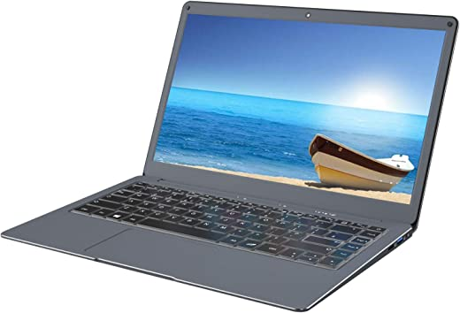 Jumper EZbook X3 Laptop Windows 10 Thin and Light Laptop 13.3 inch FHD Computer PC, Intel Apollo Lake N3350 CPU 6GB,64GB eMMC Support 128GB TF Card and SSD Expansion-Comes with British Keyboard Film