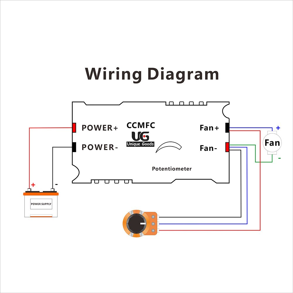 How To Wire A Potentiometer Dc Motor 10k Wiring Diagram 12v Auto Electrical