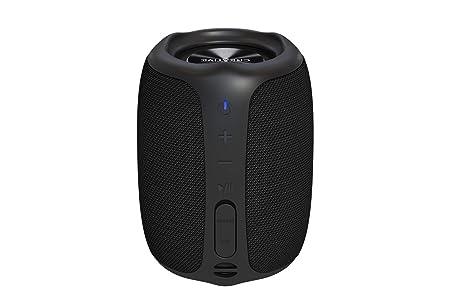 Altavoz para Exteriores Creative MUVO Play Portátil Bluetooth 5.0, con certificación IPX7 de Resistencia al Agua, hasta 10 Horas de autonomía y con Siri y Google Assistant (Negro)
