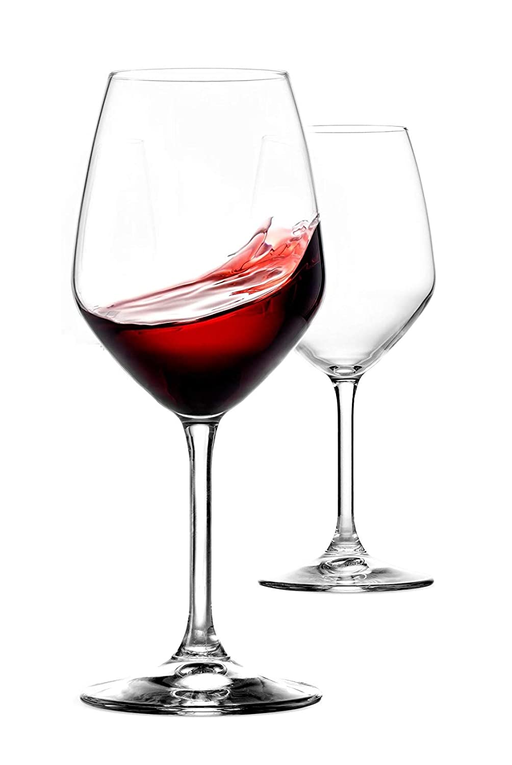 Buy Cloudsell Glass Wine Glass 2 Pieces Clear 360 Ml Online At Low Prices In India Amazon In