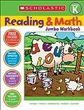 Reading & Math Jumbo Workbook: Grade K