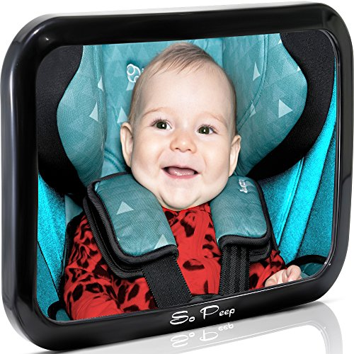 baby backseat mirror for car view infant in rear facing car seat 100 lifetime satisfaction. Black Bedroom Furniture Sets. Home Design Ideas