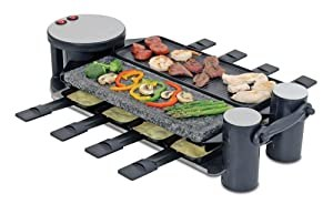 Swissmar Swivel 8 Person Raclette Party Grill