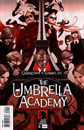 Image result for umbrella academy #1