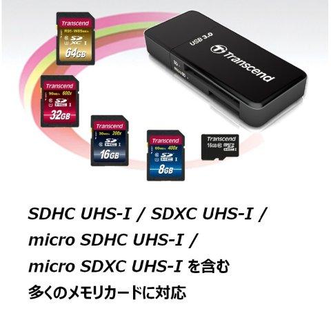 Transcend SDカードリーダー TS-RDF5K