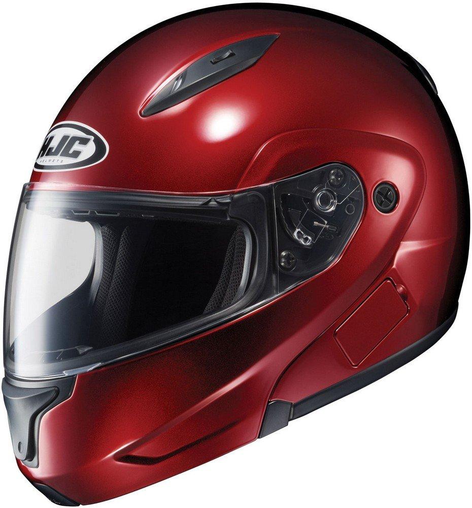 HJC Mens CL-Max 2 Modular Motorcycle Helmet Wine