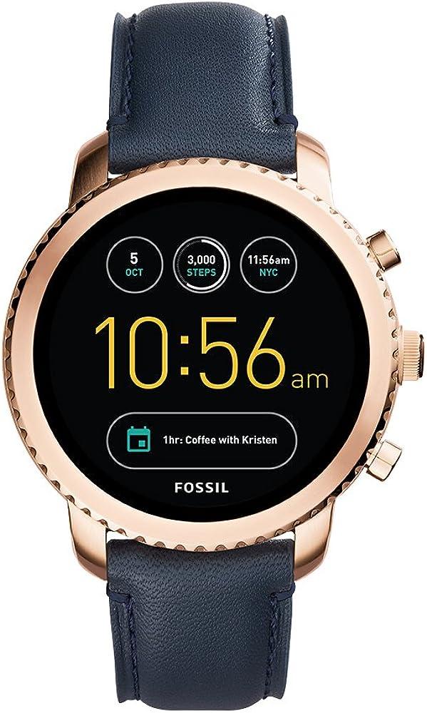 Fossil Men's Gen 3 Explorist Stainless Steel Touchscreen Smartwatch