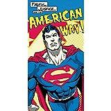COMIC / SUPERHERO|JUSTICE LEAGUE DC Superman American Way Cotton Towel