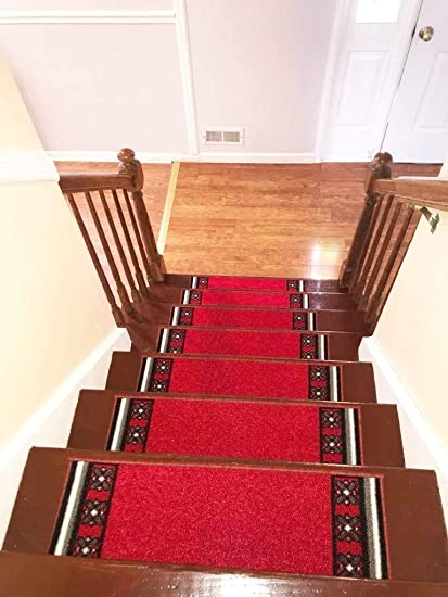 Amazon Com Stair Treads Carpet Rubber Backing – Stair Runners For | Gloria Rug Stair Treads | Mats | Area Rug | Stair Runners | Rubber Backing | Skid Resistant