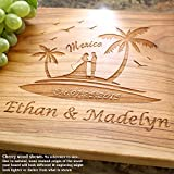 Destination Wedding Personalized Engraved Cutting Board- Wedding Gift, Anniversary Gifts, Housewarming Gift,Birthday Gift, Corporate Gift, Award, Promotion. #808