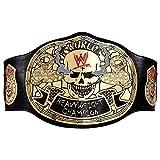 WWE Stone Cold Smoking Skull Championship Replica Title Belt Black