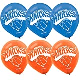 'New York Knicks NBA Collection' Printed Latex Balloons, Party Decoration