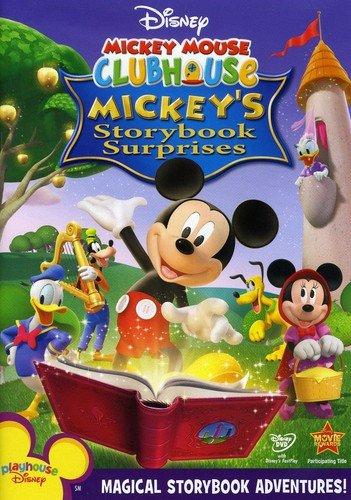 Amazon Com Disney Mickey Mouse Clubhouse Mickey S Storybook Surprises Tony Anselmo Bill Farmer Tress Macneille Russi Taylor Wayne Allwine Jim Cummings Corey Burton April Winchell Frank Welker Rob Paulsen Bret Iwan Dee Bradley