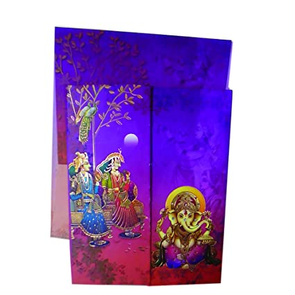 Image Unavailable Not Available For Colour Mahaveer Dulha Design Invitation Card Hindu Marriage